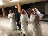 محافظ الخفجي يتفقد أحياء وشوارع المحافظة بعد هطول الأمطار